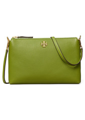 Tory Burch Kira Pebbled Leather Wallet Crossbody Bag in Shiso at Nordstrom