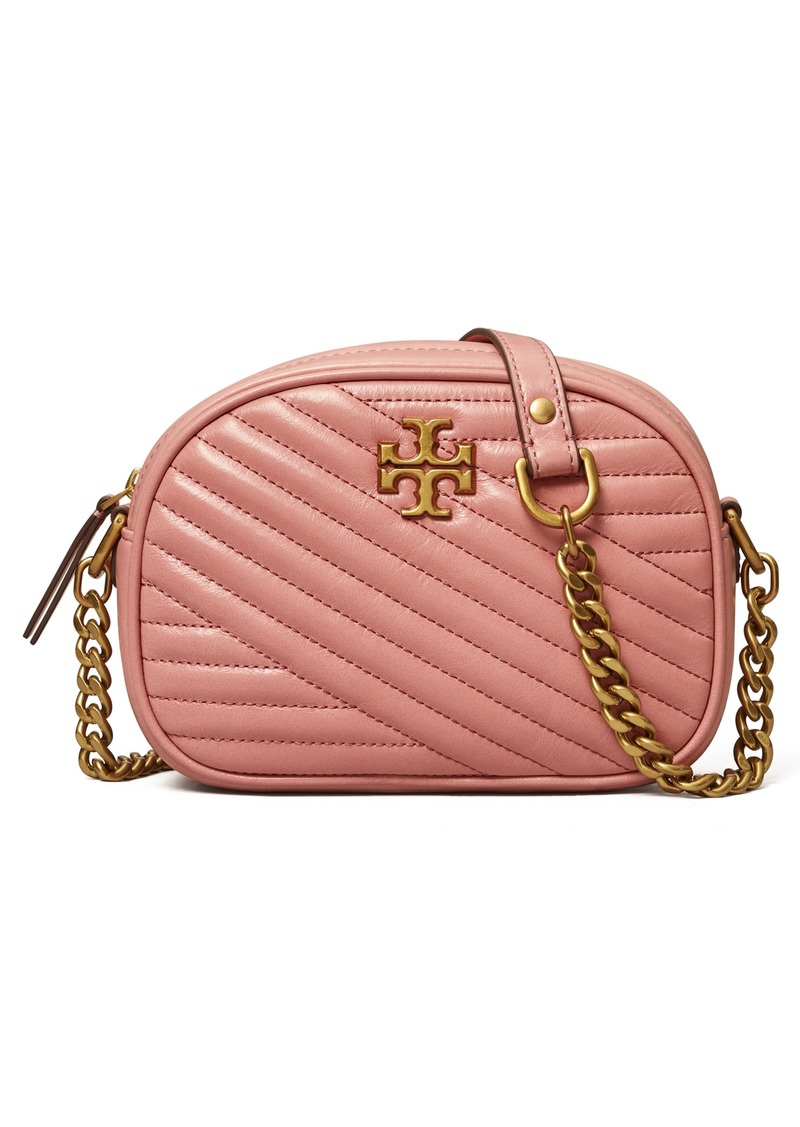 Tory Burch Kira Small Leather Camera Bag in Pink Magnolia at Nordstrom