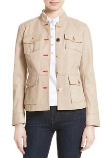Tory Burch Krista Leather Jacket