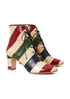 Tory Burch Lace-Up Bootie (Women)