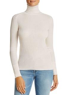 Tory Burch Lana Ribbed Turtleneck Sweater