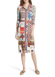 Tory Burch Laurence Print Shirtdress