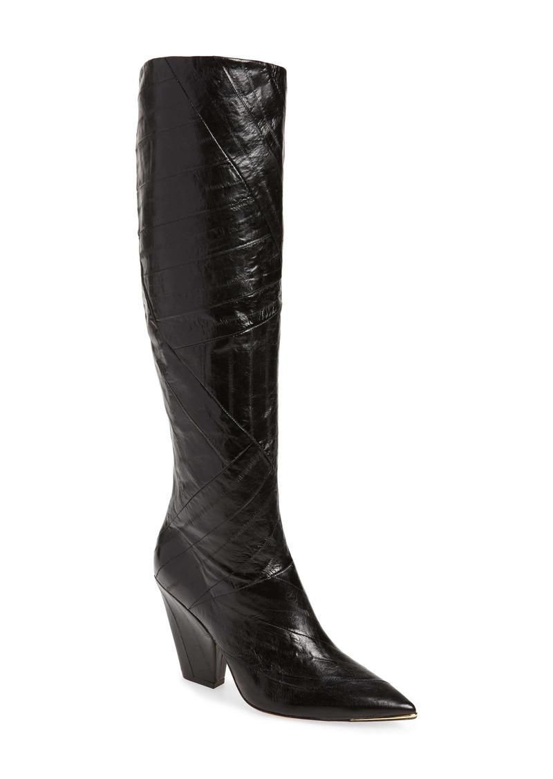 Tory Burch Lila Knee High Boot (Women)