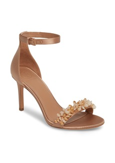 Tory Burch Logan Crystal Embellished Sandal (Women)