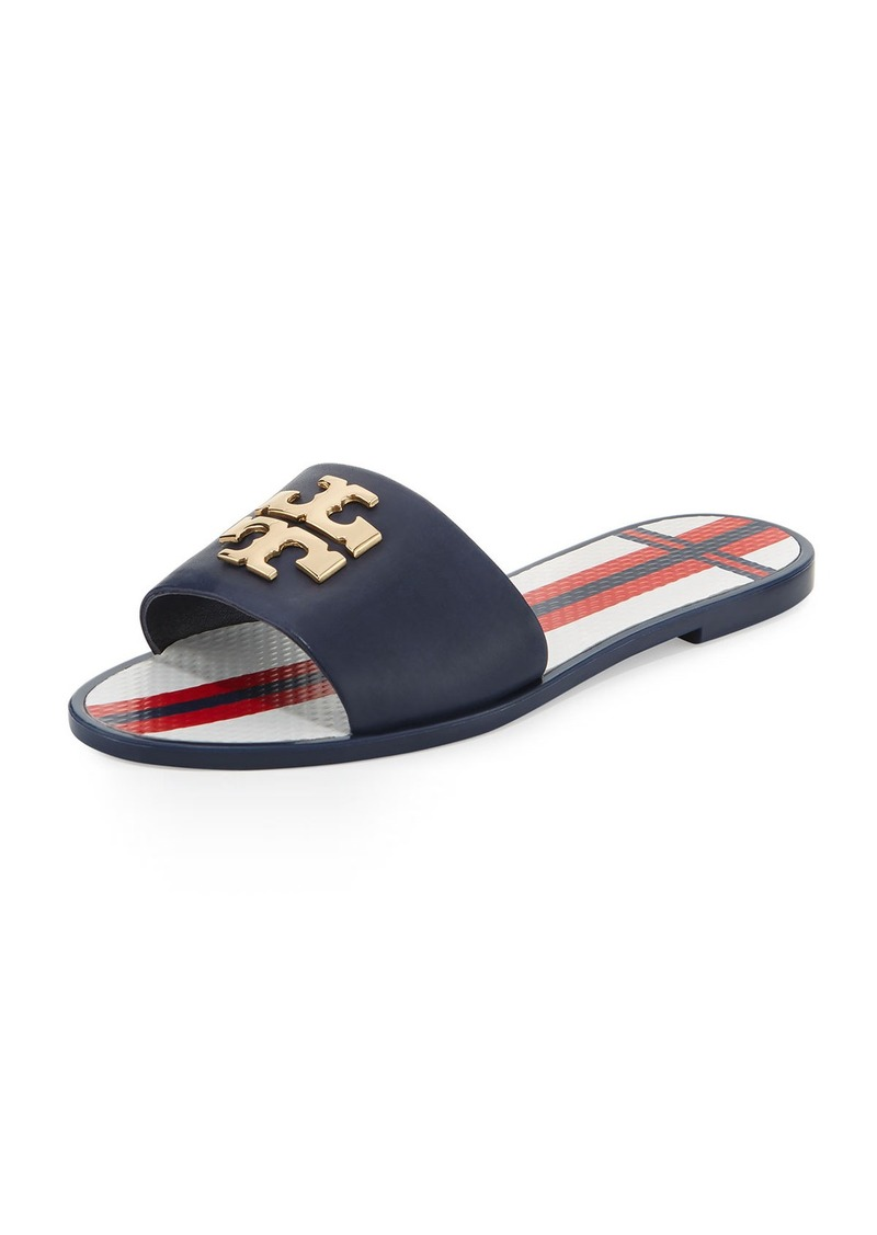 Tory Burch Logo Slide Sandals sale Inexpensive free shipping deals lykkV
