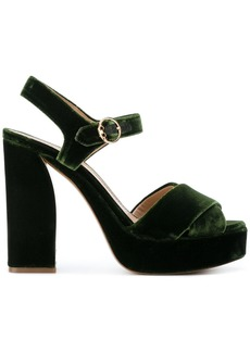 Tory Burch Loretta platform sandals - Green