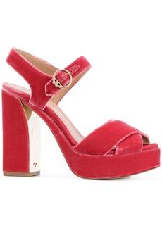 Tory Burch Loretta platform sandals - Pink & Purple