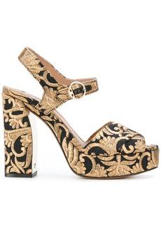 Tory Burch Loretta sandals - Metallic