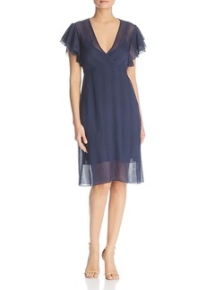 Tory Burch Madison Silk Flutter Dress