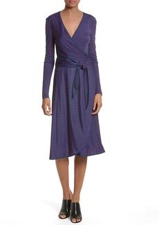 Tory Burch Margot Print Wrap Dress
