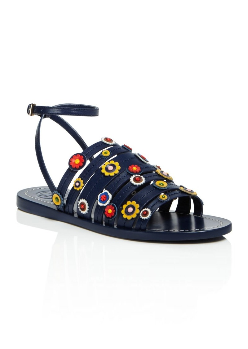 bccb63027531 On Sale today! Tory Burch Tory Burch Marguerite Floral Strappy Sandals