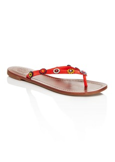 Tory Burch Marguerite Terra Thong Sandals