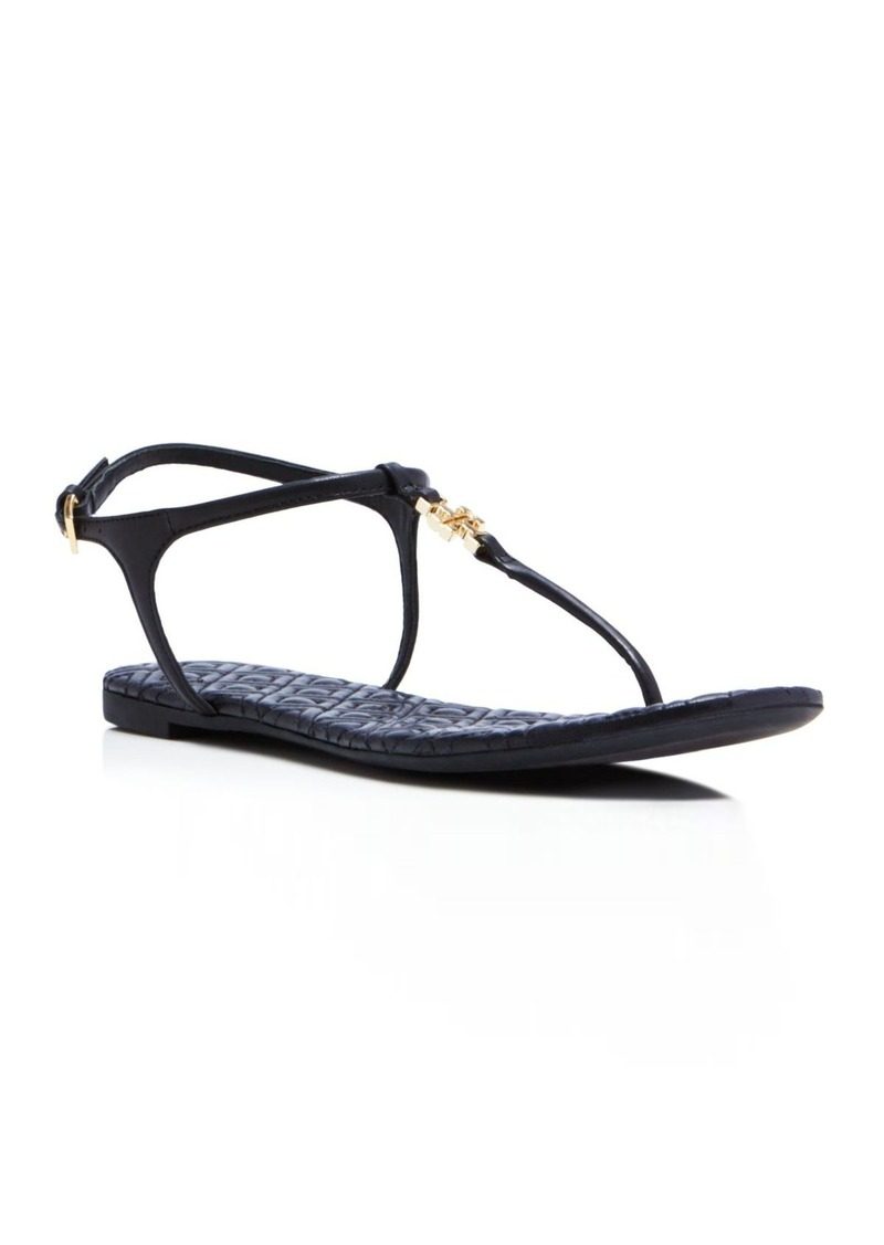 Tory Burch Marion Quilted Thong Sandals
