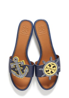 Tory Burch Maritime Slide Sandal (Women)