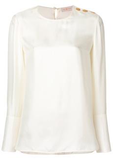 Tory Burch Martina blouse - Nude & Neutrals