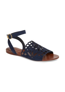 Tory Burch May Perforated Ankle Strap Sandal (Women)