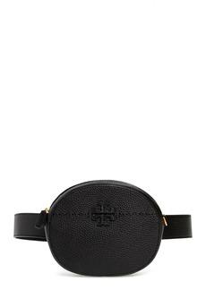 Tory Burch McGraw Leather Belt/Crossbody Bag