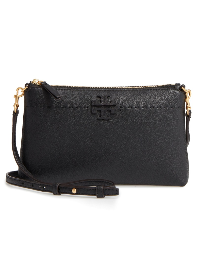 925fc6a2c1c8 Tory Burch Tory Burch McGraw Leather Crossbody Pouch