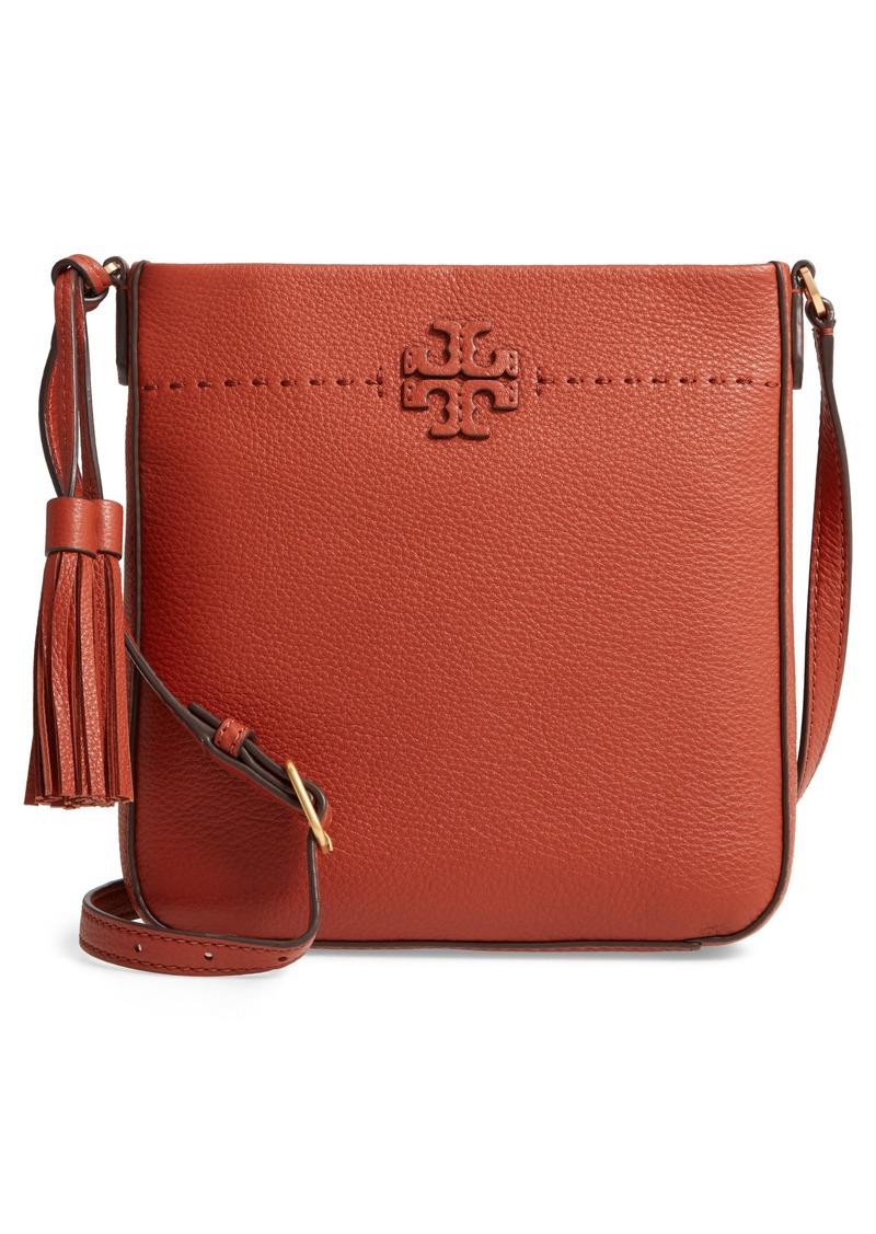 0982e2419 Tory Burch Tory Burch McGraw Leather Crossbody Tote | Handbags