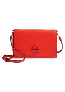 Tory Burch McGraw Leather Crossbody Wallet