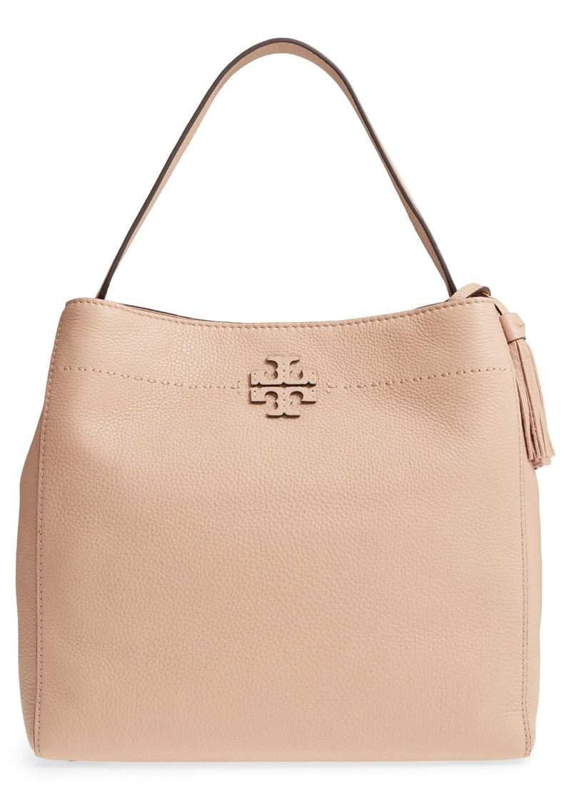 a8c81503a6645 Tory Burch Tory Burch McGraw Leather Hobo