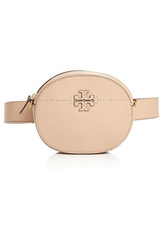 Tory Burch McGraw Round Leather Convertible Crossbody