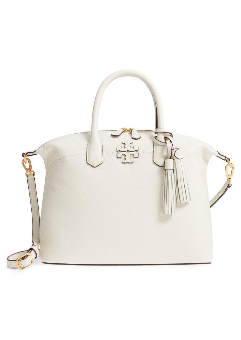 78e24b0ad Tory Burch Tory Burch McGraw Slouchy Leather Satchel   Handbags
