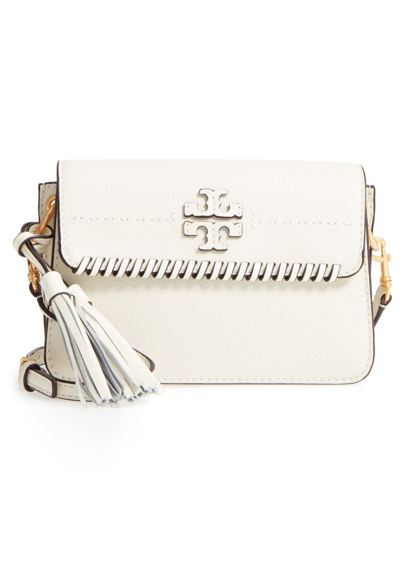 a2507bcf08ce Tory Burch Tory Burch McGraw Whipstitch Leather Crossbody Bag | Handbags
