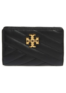 Tory Burch Medium Kira Quilted Leather Wallet