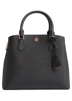 Tory Burch Medium Robinson Leather Triple Compartment Bag