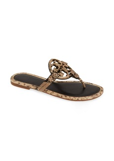 Tory Burch Metal Miller Flip Flop (Women)