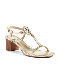 Tory Burch Miller Block Heel Sandal (Women)