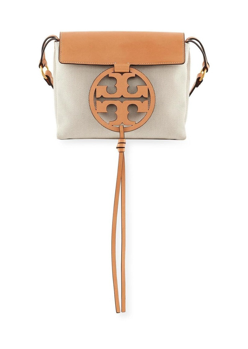 49f0223212b Tory Burch Tory Burch Miller Canvas Crossbody Bag
