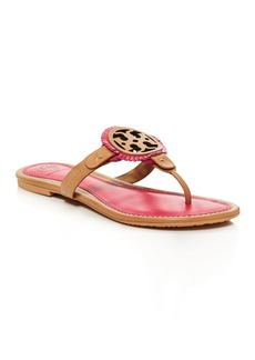 Tory Burch Miller Fringe Thong Sandals