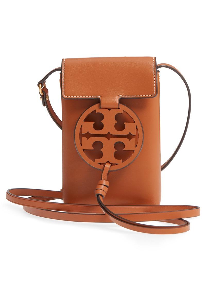 Miller Leather Phone Crossbody Bag