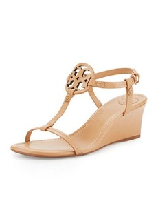 Tory Burch Miller Logo 60mm Wedge Sandal