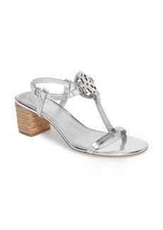 Tory Burch Miller Logo T-Strap Sandal (Women)
