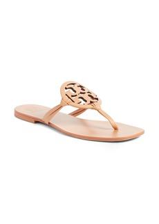 Tory Burch Miller Logo Thong Sandal (Women)