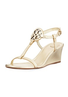 Tory Burch Miller Medallion Wedge Sandal
