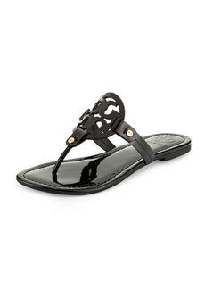 Tory Burch Miller Patent Logo Sandal