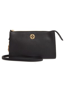 Tory Burch Mini Everly Leather Crossbody Bag