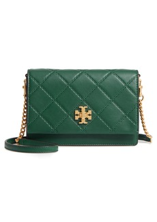 Tory Burch Mini Georgia Quilted Leather Shoulder Bag