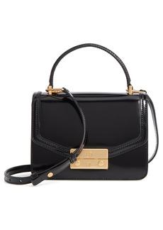 Tory Burch Mini Juliette Leather Top Handle Satchel