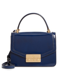 Tory Burch Mini Juliette Leather Top Handle Satchel