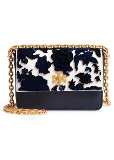 Tory Burch Mini Kira Leather & Fil Coupé Bag