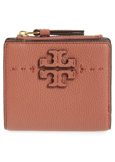 Tory Burch Mini McGraw Leather Wallet