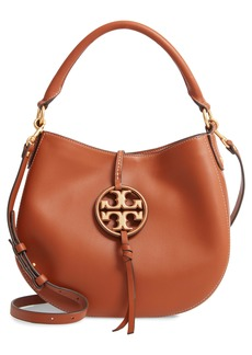 Tory Burch Mini Miller Leather Hobo Bag