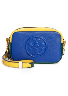 Tory Burch Mini Perry Colorblock Leather Crossbody Bag