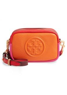 Tory Burch Mini Perry Colorblock Leather Crossbody Bag