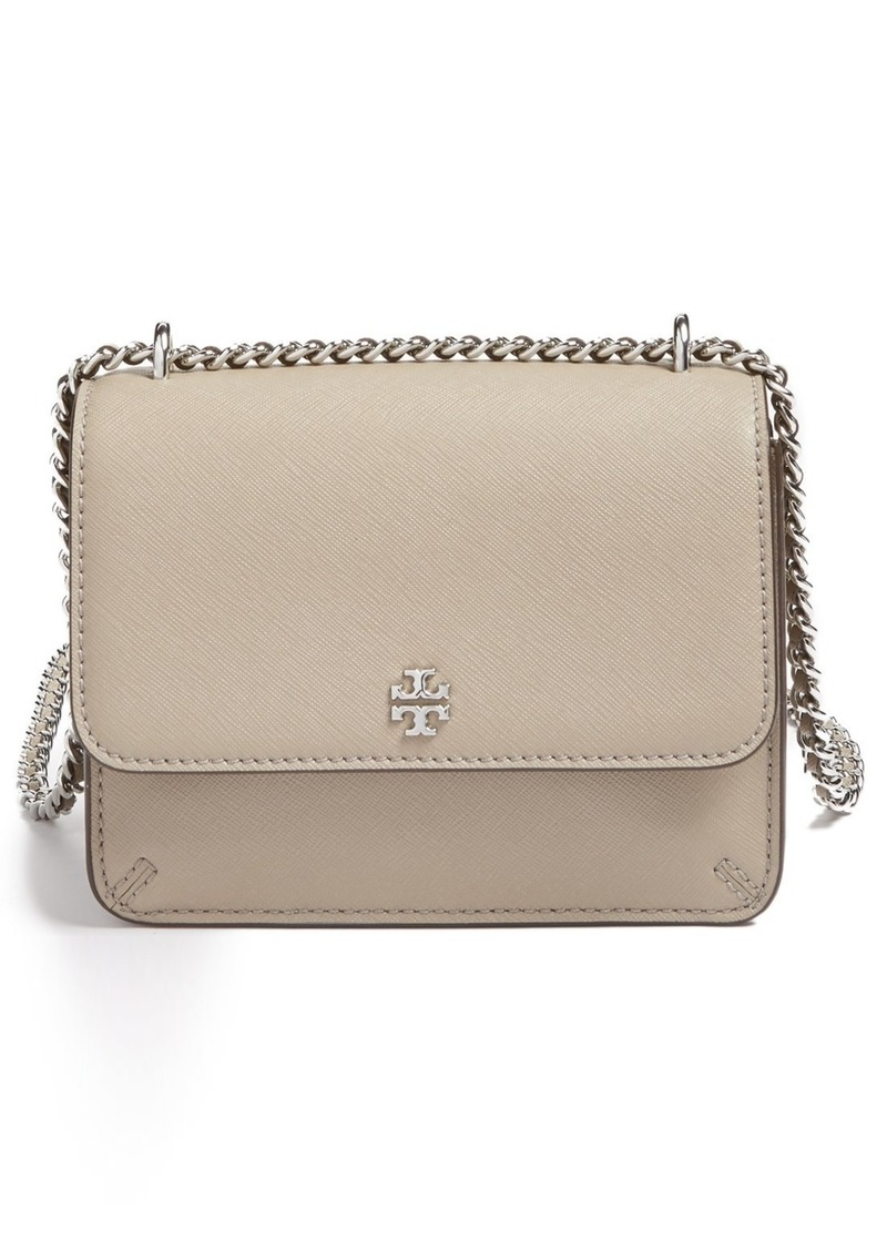 09f9390d3d7 Tory Burch Tory Burch Mini Robinson Convertible Leather Shoulder Bag ...